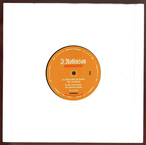 "J Robinson - Rolling With The Punches 10"" WhoDemSound ‎– WHODEM012"