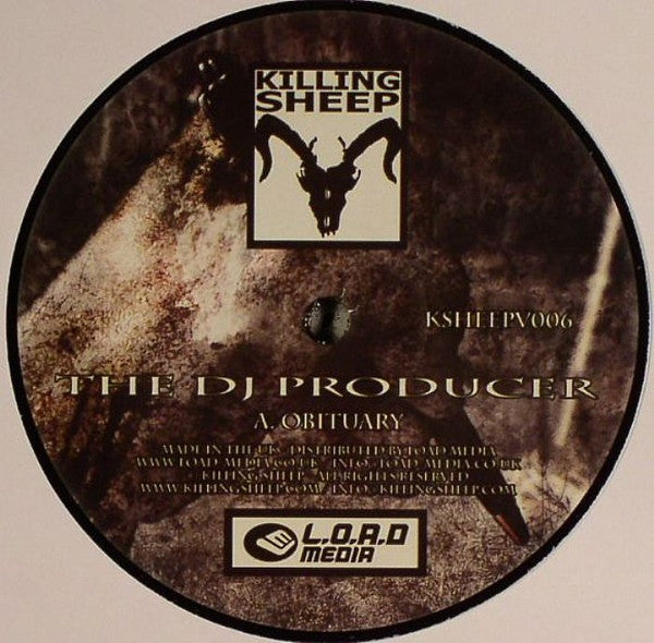 "The DJ Producer / Throttler - Obituary / Validation 12"" Killing Sheep Records KSHEEPV006"