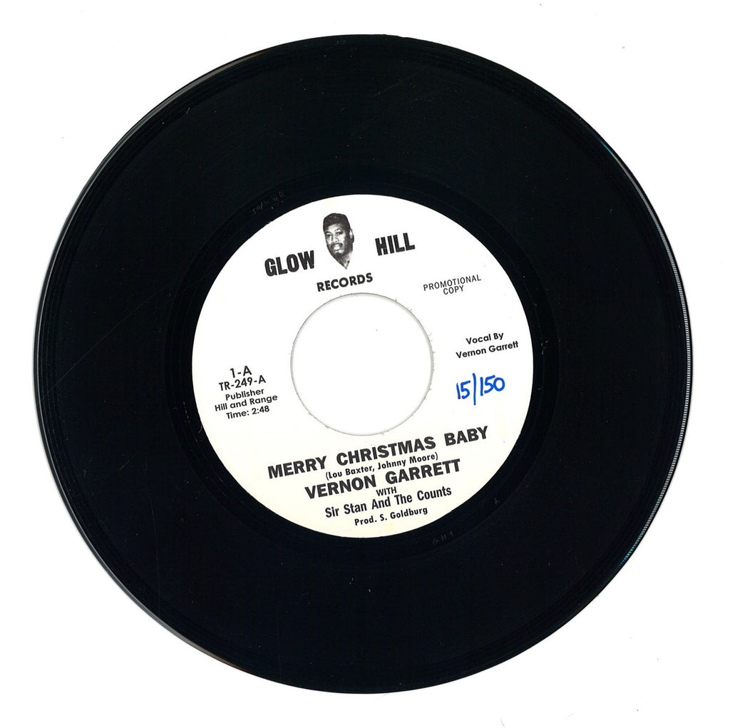 Vernon Garrett With Sir Stan And The Counts ‎– Merry Christmas Baby - Tramp Records, Glow Hill Record ‎– TR-249