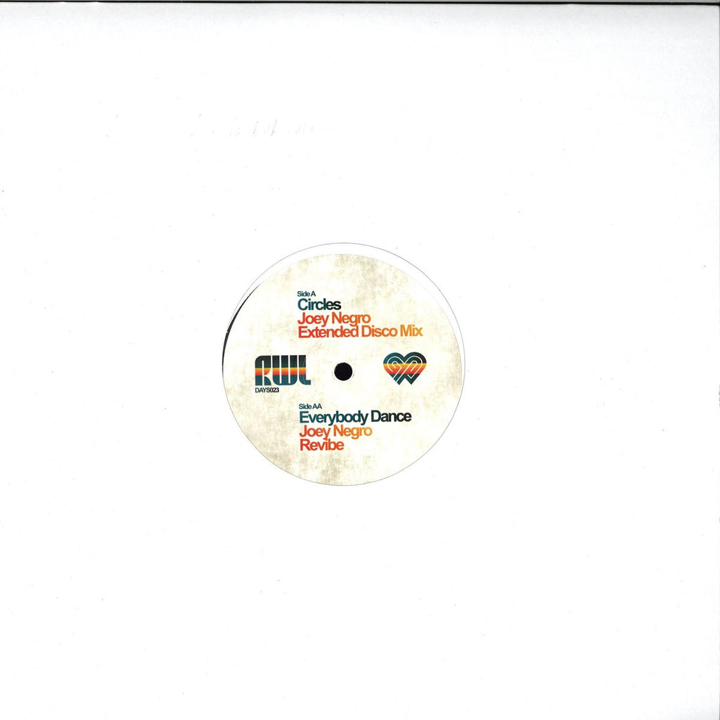 Joey Negro ‎– Remixed With Love - Better Days Records Inc ‎– DAYS023