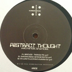 "Abstract Thought - Hypothetical Situations 2x12"" Kombination Research KRE02"