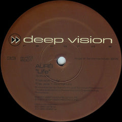 "Auréi - Life 12"" Deep Vision Records DVR 023"