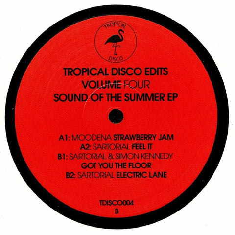 Moodena / Sartorial / Simon Kennedy - Tropical Disco Edits Volume 4 - Tropical Disco ‎– TDISCO004