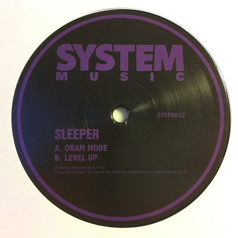 Sleeper - Oram Mode / Level Up - System Sound SYSTM022