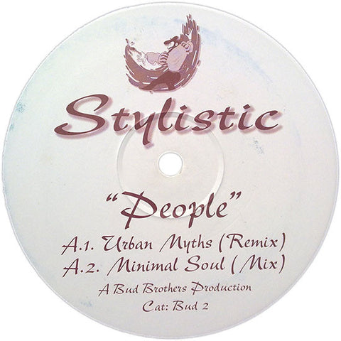 "Stylistic ‎– People 12"" Bud Brothers Series ‎– Bud 2"