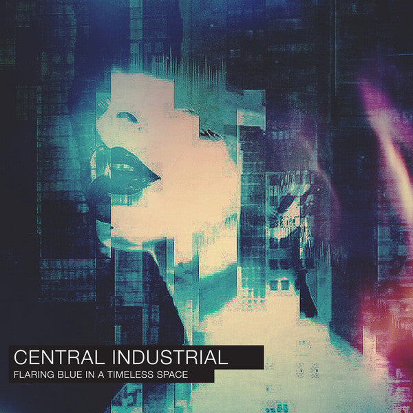 Central Industrial ‎– Flaring Blue In A Timeless Space (CD) Auxiliary ‎– AUXCD009