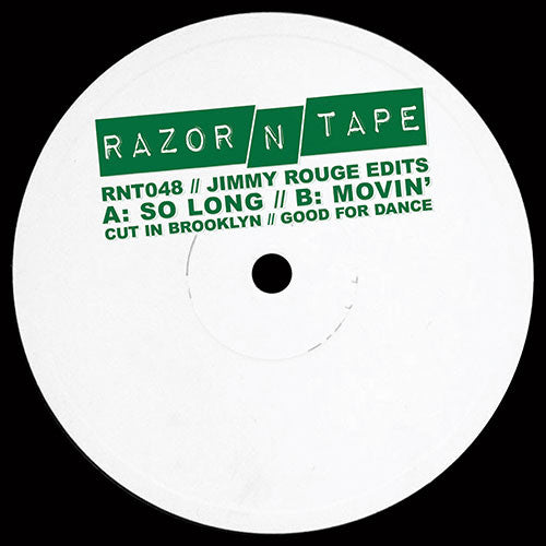 Jimmy Rouge ‎– Jimmy Rouge Edits - Razor N Tape ‎– RNT048
