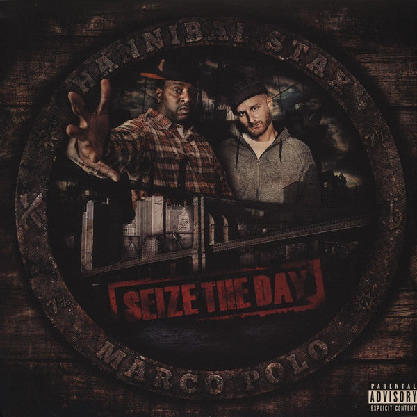 "Hannibal Stax & Marco Polo - Seize The Day 2x12"" Ill Adrenaline Records IAR017"