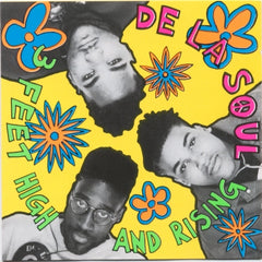 De La Soul - 3 Feet High And Rising - Tommy Boy TBVL 1019