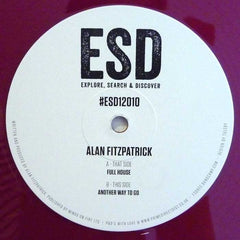 "Alan Fitzpatrick ‎– Full House 12"" ESD Records ‎– ESD12010"