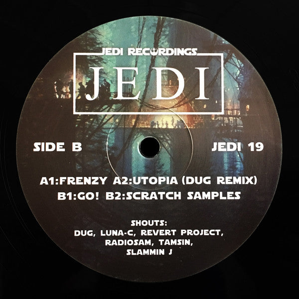 DJ Jedi ‎– Frenzy - Jedi Recordings ‎– JEDI 19