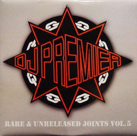 DJ Premier ‎– Rare & Unreleased Joints Volume 5 - DJPREMIERLP05