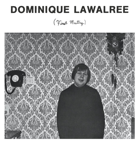 Dominique Lawalree ‎– First Meeting - Catch Wave Ltd ‎– CW - 001, Ergot Records ‎– ERG-004