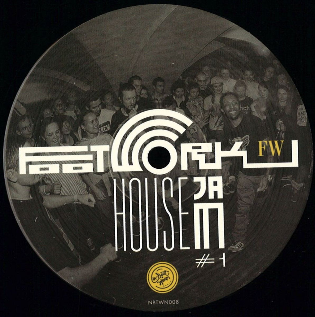 "Various ‎– Footwork House Jam 1 12"" In-Beat-Ween Music ‎– NBTWN008"