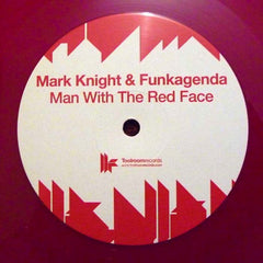 Mark Knight, Funkagenda ‎– Man With The Red Face - Toolroom Records ‎– TOOL25001V