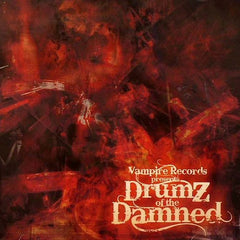 Various - Drumz Of The Damned (CD) Vampire Records VAMPCDLP2UK002