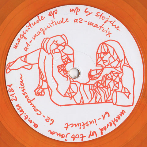 Stojche ‎– Magnitude EP - a.r.t.less ‎– A.R.T.LESS 2181 (CLEAR ORANGE)