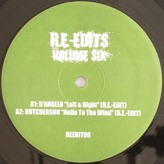 "Various - Re-Edits Volume Six 12"" Re-Edits REEDIT06"