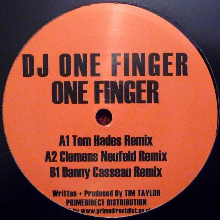 "DJ One Finger - One Finger 12"" Missile 2.0 MISSILE 2.04"