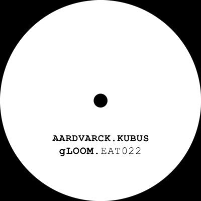 "Aardvarck & Kubus - Gloom 12"" Eat Concrete EAT022"