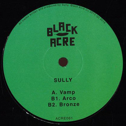 "Sully - Vamp 12"" Black Acre ‎– ACRE061"