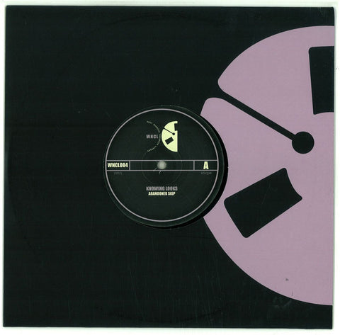 "Knowing Looks ‎– Abandoned Skip / Last Kiss At The Plains Hotel 10"" WNCL Recordings ‎– WNCL004"