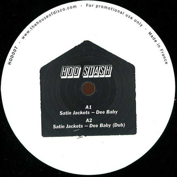 "Various ‎– Guilty Pleasures EP 12"" House Of Disco Records, HOD STASH ‎– HODSTASH01"