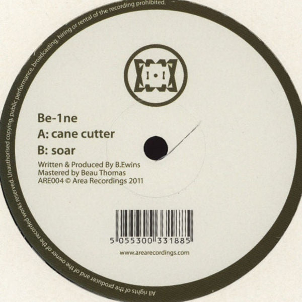 "Be-1ne - Cane Cutter / Soar 12"" Area Recordings ARE004"