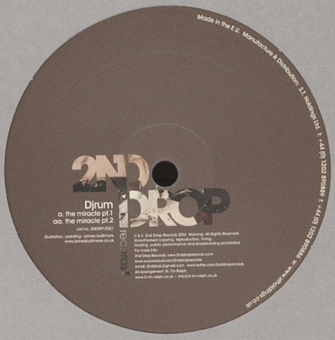 Djrum ‎– The Miracle - 2nd Drop Records ‎– 2NDRP12027