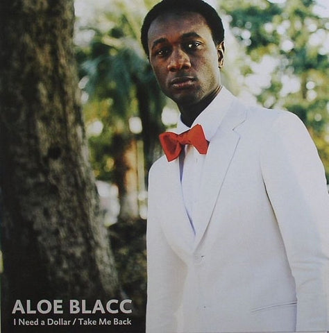 "Aloe Blacc - I Need A Dollar / Take Me Back 12"" Stones Throw Records STH2246"