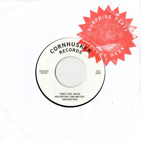 Valentine Unlimited Orchestra / Rainmaker - Take You / Don't Be Afraid - Cornhusker Records ‎– CORN001