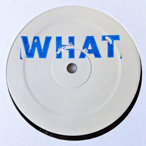 "Bruce - 12"" LP Sampler - Hessle Audio ‎– WHAT12"