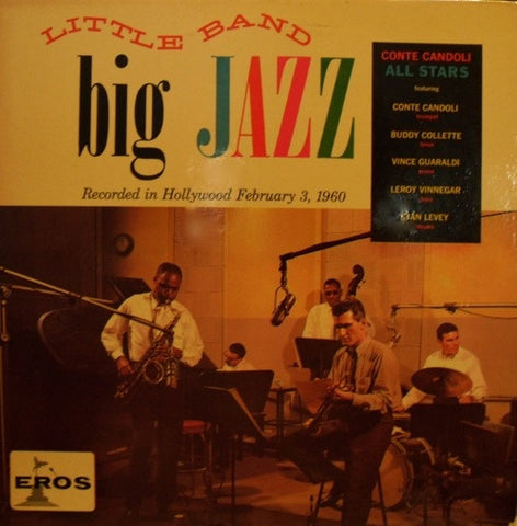"Conte Candoli All Stars - Little Band - Big Jazz 12"" Eros ERL 50028"