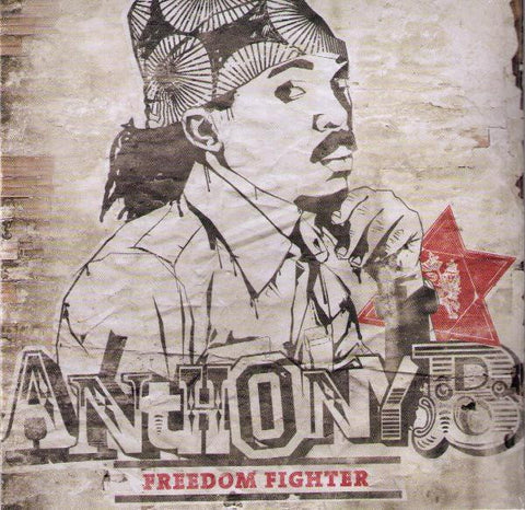 "Anthony B ‎– Freedom Fighter 12""+CD Irievibrations Records ‎– IRIE053LP"