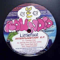 Littlefoot - Interplanetary EP - Well Rounded Records WRND009