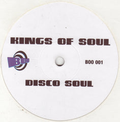 "Kings Of Soul ‎– Disco Soul 12"" Boo ‎– BOO 001"