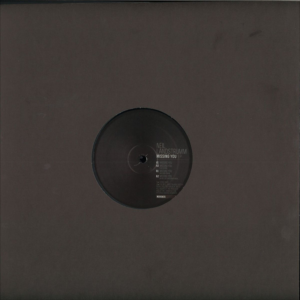 "Neil Landstrumm ‎– Missing You EP 12"" Mord ‎– MORD035"