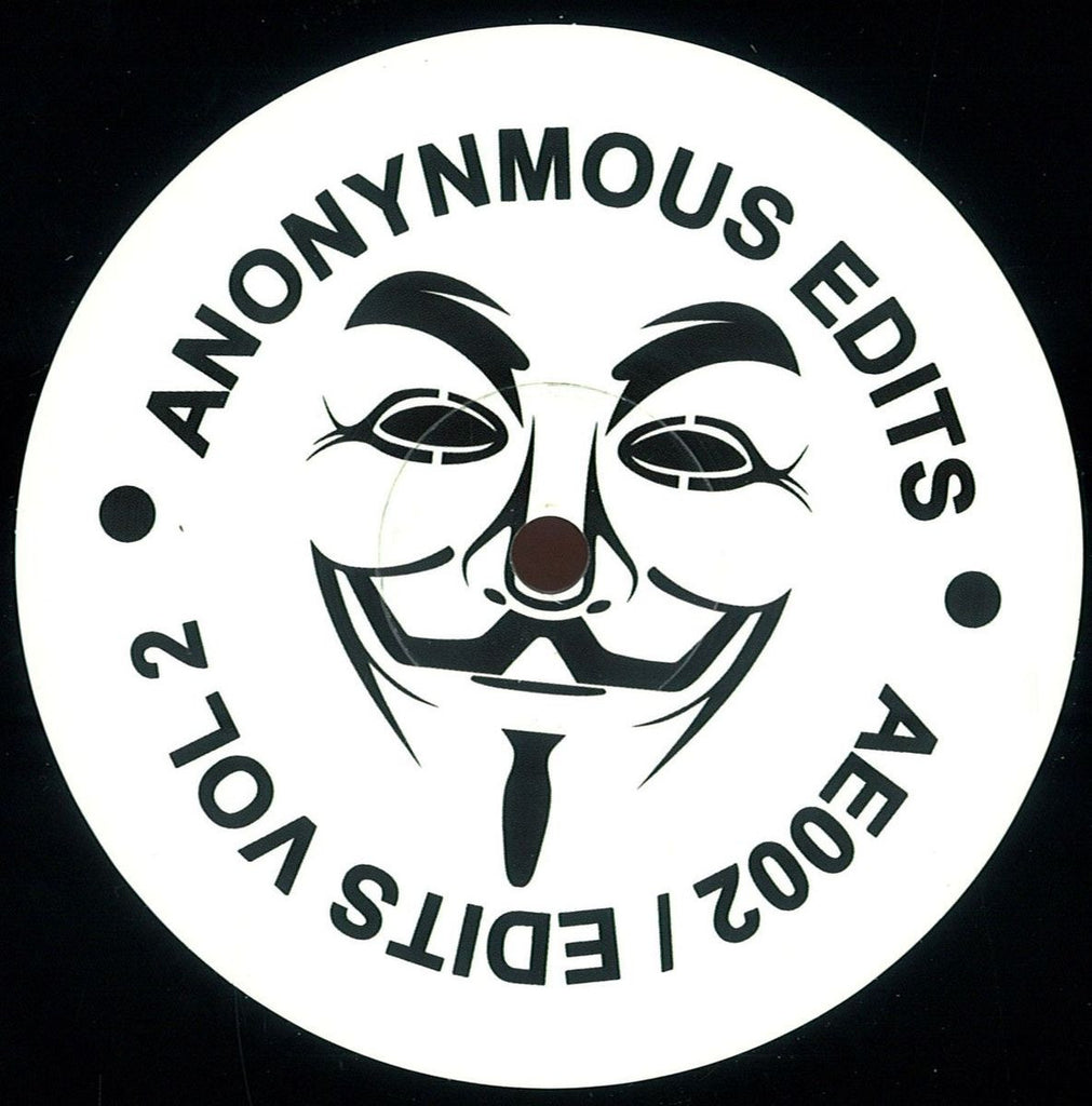 "Unknown Artist - Edits Vol 2 12"" Anonymous Edits AE002"