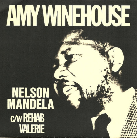 Amy Winehouse ‎– Nelson Mandela - 2 Soul Records ‎– AMY 2