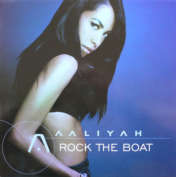 "Aaliyah ‎– Rock The Boat 12"" Virgin ‎– VUST 243, Blackground Records ‎– 7243 5 46347 65"