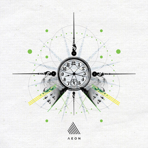 "Andrea Di Rocco ‎– The Past Present 12"" Aeon – AEON003"