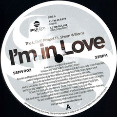 The LOVE Project, Shean Williams ‎– I'm In Love - Soulstice Music ‎– SSMV002