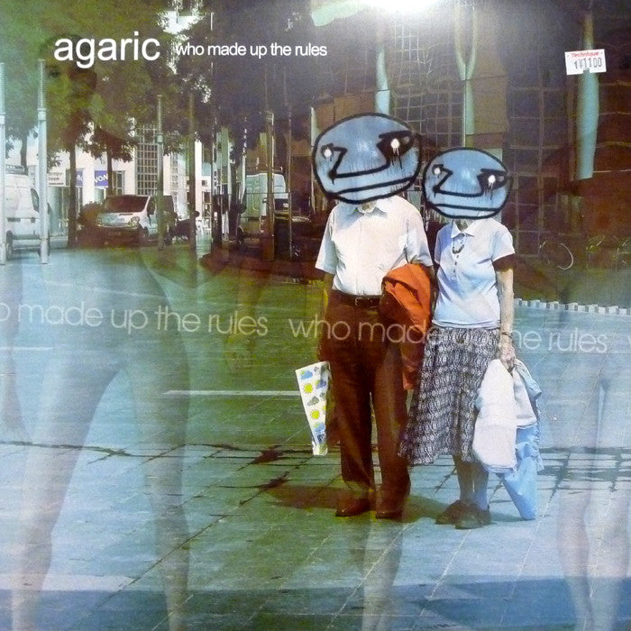 "Agaric - Who Made Up The Rules 12"" Ovum Recordings OVM 9011-3"
