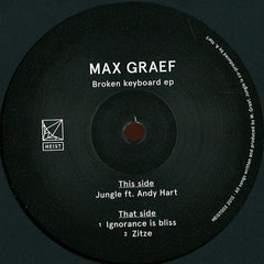 Max Graef ‎– Broken Keyboard EP - Heist - HEIST002