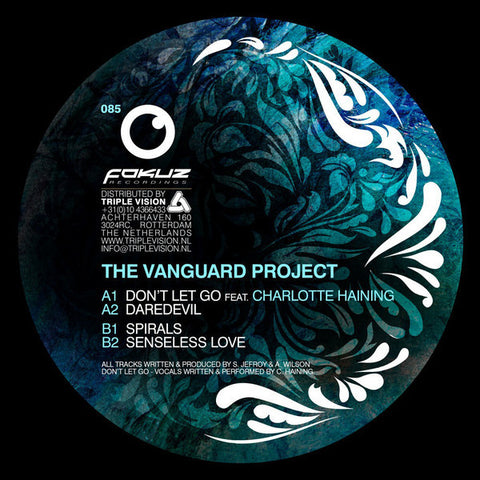 "The Vanguard Project ‎– Daredevil EP 12"" Fokuz Recordings ‎– FOKUZ085"