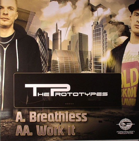"The Prototypes - Breathless / Work It 12"" Formation Records FORM12139"