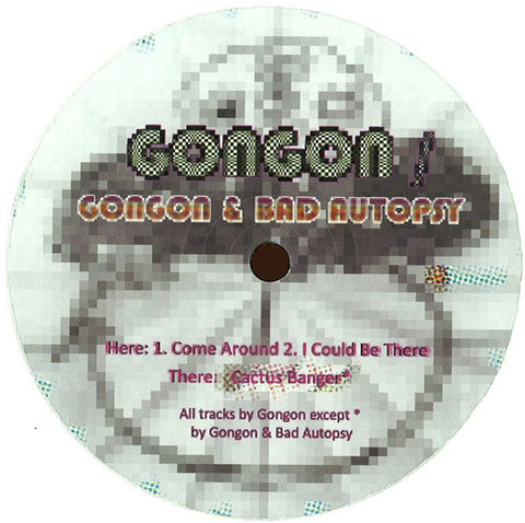 "Gongon ‎– Come Around 12"" Well Rounded Records ‎– WRND012"