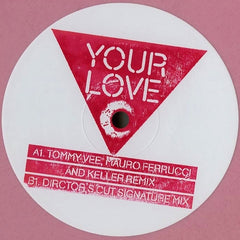 Frankie Knuckles Pres Director's Cut Feat Jamie Principle - Your Love (Remixes) - Nocturnal Groove NCTGDPROMO003