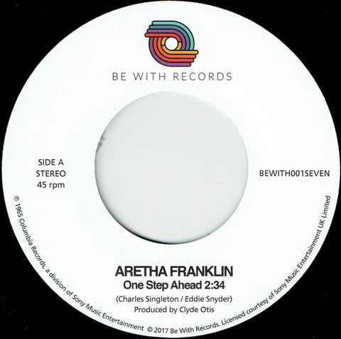 Aretha Franklin ‎– One Step Ahead - Be With Records ‎– BEWITH001SEVEN
