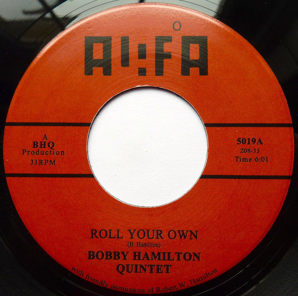 "Bobby Hamilton Quintet - Roll Your Own 7"" Tramp Records ‎– 5019"